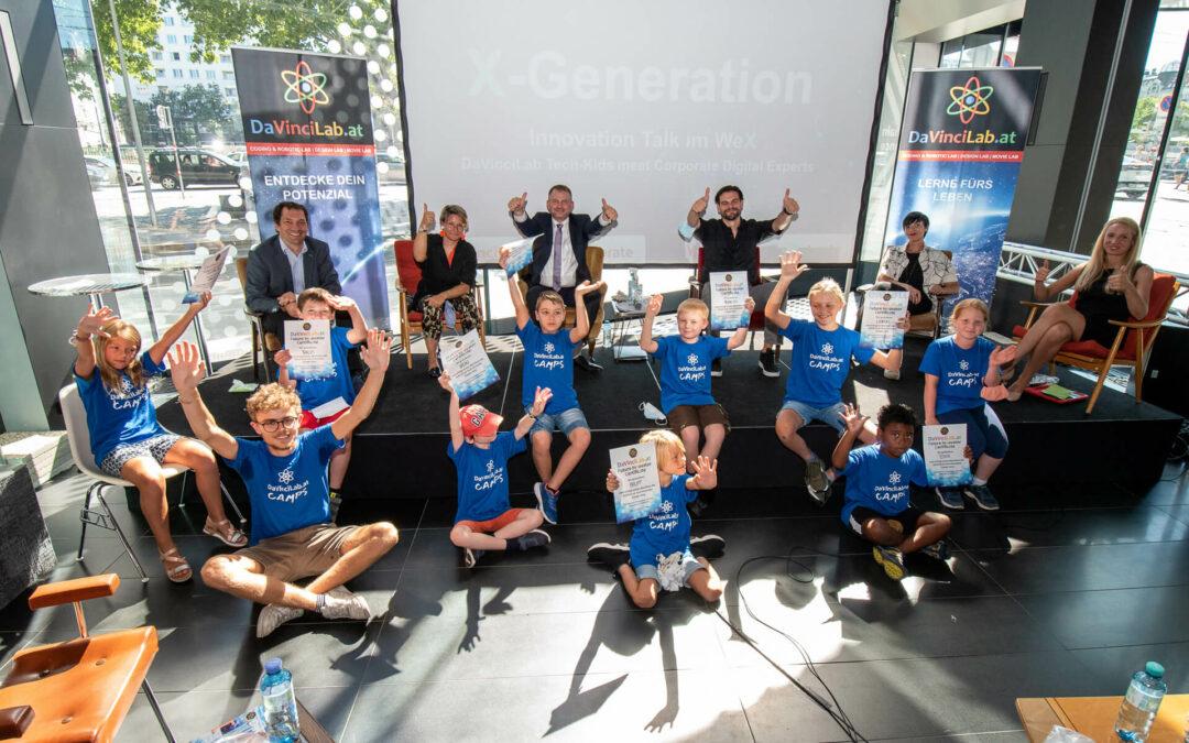 Startschuss für Digital Innovators @ School im größten Innovations-Ökosystem Österreichs